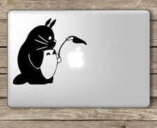 Totoro Shielding Apple Studio Ghibli - Apple Macbook Laptop Vinyl Sticker Decal