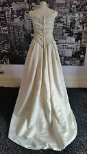 Pronovia Sequinned gown, with Magnificent train (Ivory) Wedding, Tag says £495