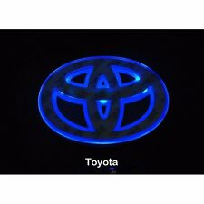 LED Car Logo Blue light for Toyota  Auto Badge Light 15*10cm