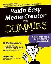 Roxio Easy Media Creator For Dummies-ExLibrary