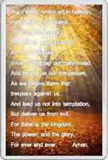 THE LORDS PRAYER FRIDGE MAGNET religion beautiful Picture and inspirational