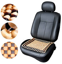 Maple Wooden Beads Car Vehicle Seat Ventilation Cushion Acupressure Effect