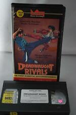Dreadnaught Rivals Master Arts Video Sinon Lin Kent KO Marital Arts VHS Tape