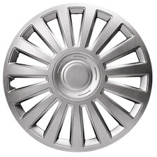 """Ford Capri Luxury 15"""" Wheel Covers Metallic Silver ABS Construction"""