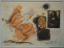 Vethers Alexander ?  Hommage a´Leonardo da Vinci, 610/750 Farblitho