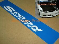 "53"" Spoon Sports Windshield Decal Sticker sun strip banner visor civic accord si"