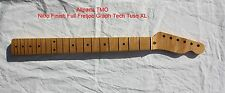 Maple Tele 21 Frets Pro Serviced Full Fretjob Nitro Satin Finish USA Delivery