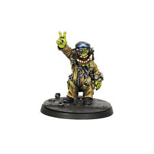 Ork War2 Pilot #2 Orc Flying Ace Resin Model Kromlech