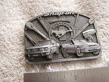 Vintage Snap On Belt Buckle Commemorative 30 Years Ford Mustang