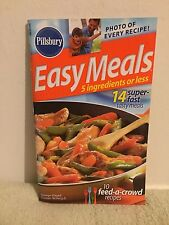 Pillsbury product recipe book: 5 Ingredients or Less (2005) SC
