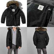 ABERCROMBIE & FITCH MEN SHERPA PARKA all weather Jacket NWT Size S M L XL XXL