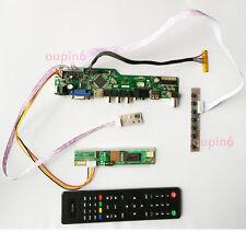 TV+HDMI+VGA+USB LCD LED screen Controller Board  kit for LTN154X3-L03/LP154W01