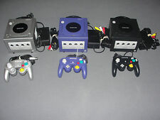 Nintendo GameCube Console Bundle + 1 Controller(Tight Sticks) + AV & Power Cords