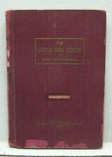 "1952 The Little ""Red Book"" of Base Ball- Hardcover Baseball Book  (L9678)"