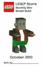 Constructibles® Frankenstein's Monster Halloween Mini Model LEGO® Parts & Instr