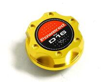 GOLD BILLET CNC RACING ENGINE OIL FILLER CAP HONDA CIVIC CRX DEL SOL D16