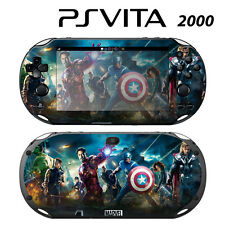 Vinyl Decal Skin Sticker for Sony PS Vita Slim 2000 Avengers 1