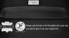 BLACK STITCH STORAGE TRAY ROOF LINER LEATHER COVER FITS VW CADDY VAN MK2 95-04