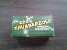 Vintage 22 Remington Thunderbolt Empty Ammo Box
