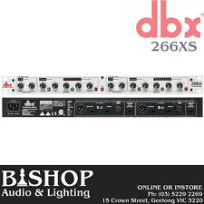 DBX 266xs 2 Channel Compressor/Gate - FREE DELIVERY