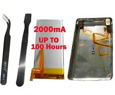 2000mA Battery+Back Cover Upgrade kits replacement for iPod Classic 160GB thin