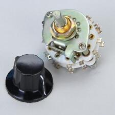 4 pole 5 Position /Throw 4P-5T Ceramic Rotary Switch for RF Power Applications