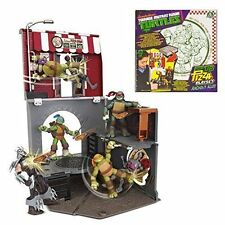 NEW TOY TMNT Teenage Mutant Ninja Turtles Pop-Up Pizza Alley Playset  RRP $50