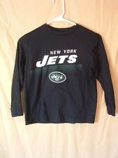 NEW YORK JETS, LONG SLEEVE SHIRT, YOUTH S (6/7), NFL