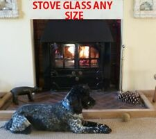 Heat Resistant Cut To Size Stove Glass - 250mm x 185mm