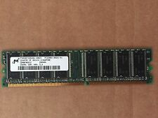 256MB  Micron  MT8VDDT3264AG   DDR1 RAM PC3200 Memory 400MHz CL3