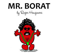 Mr Borat Men T Shirt Transfer A5 Stag Wedding Adult Funny Rude Fancy Dress