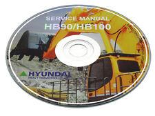 Hyundai Robex Crawler Mini Excavator 16-7 Workshop, Service, Repair Manual