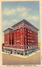 HOTEL SHAWNEE - SPRINGFIELD, OHIO For THE REST of your life H J Weseloh, Gen Mgr