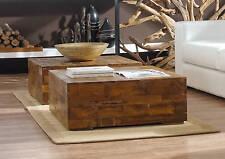 Teakholz Couchtisch Driftwood Teak Schwemmholz massiv Handarbeit Tisch