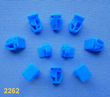 (2262) 10x Zierleistenklammern Clip Klip Zierleisten blau für Accord, Civic, CRX