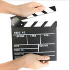 Director Video Scene Clapperboard TV Movie Clapper Board Film Slate Cut Prop GA