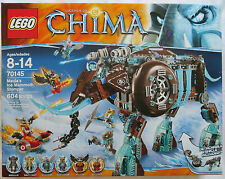 LEGO 70145 Legends of Chima Maula's Ice Mammoth Stomper Boy Mottrot 2014 NIB NEW
