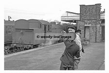 pt7929 - Railway Engine 67789 at Woodford Halse Station - photograph 6x4