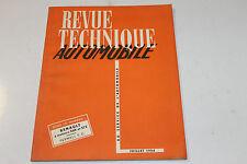 Revue Technique Automobile  Juillet 1954 Renault à Moteurs 568 & 572 farmall fc