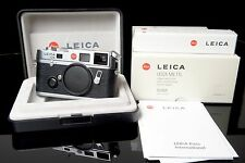 Leica M6 TTL (0,72) Silbern verchromt  10434 Mint Condition  OVP
