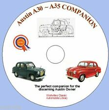 The Austin A30 A35 Companion  DVD rom