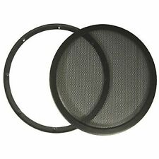 "10"" DJ Car Speaker Steel Mesh 2 Piece Sub Woofer Subwoofer Grill New Cover"