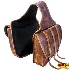C--7-0 12 In Tall X 12 In Wide Tough 1 Elite Insulated Horse Saddle Bag Brown