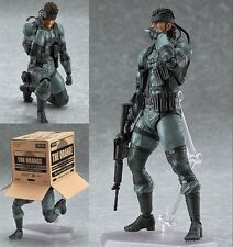 Figma 243 Solid Snake Metal Gear Solid 2 PVC Action Figure In Box