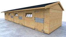 TIMBER STABLES FOR SALE  3 STABLES AND 1 TACKROOM FREE DELIVERY & INSTALLATION