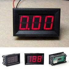 DC 0-30V Red LED 3-Digital Display Mini Voltage Voltmeter Panel Volt Meter