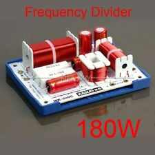 180W HiFi 3 Way Crossover Filters For 3 Speaker System Audio Frequency Divider