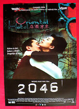 2046 SCI-FI  TONY LEUNG CHIU WAI  GONG LI  FAYE WONG UNIQUE SERBIAN MOVIE POSTER