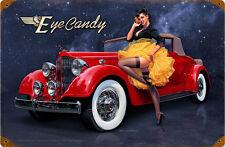 Eye Candy Metal Sign ( Greg Hildebrandt )