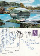 1965 MULTI VIEWS OF INVERNESS SHIRE SCOTLAND COLOUR POSTCARD
